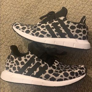 Adidas animal print athletic Sneaker